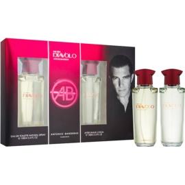 Antonio Banderas Diavolo ajándékszett I. Eau de Toilette 100 ml + borotválkozás utáni arcvíz 100 ml