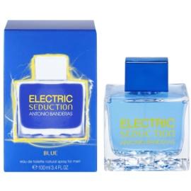 Antonio Banderas Electric Blue Seduction Eau de Toilette for Men 100 ml