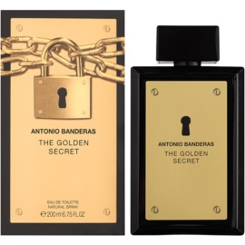 Antonio Banderas The Golden Secret eau de toilette férfiaknak 200 ml