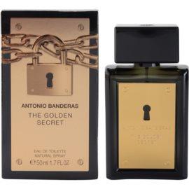 Antonio Banderas The Golden Secret eau de toilette férfiaknak 50 ml