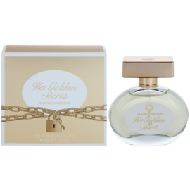 Antonio Banderas Her Golden Secret Eau de Toilette for Women 50 ml