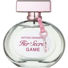 Antonio Banderas Her Secret Game eau de toilette per donna 80 ml