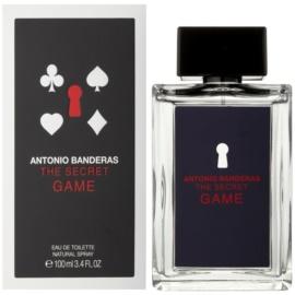Antonio Banderas The Secret Game Eau de Toilette für Herren 100 ml