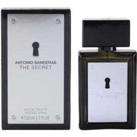 Antonio Banderas The Secret eau de toilette férfiaknak 50 ml