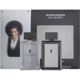 Antonio Banderas The Secret set cadou I. Apa de Toaleta 100 ml + After Shave Water 100 ml