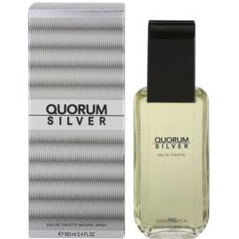 Antonio Puig Quorum Silver toaletná voda pre mužov 100 ml