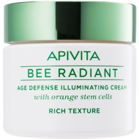 Apivita Bee Radiant krema za posvetljevanje proti znakom staranja  50 ml