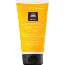 Apivita Holistic Hair Care Olive & Honey après-shampoing nourrissant pour cheveux secs et sensibilisés  150 ml