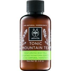 Apivita Body Tonic Bergamot & Green Tea loción tonificadora para el cuerpo  75 ml