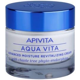 Apivita Aqua Vita crème hydratante et revitalisante intense pour peaux très sèches  50 ml