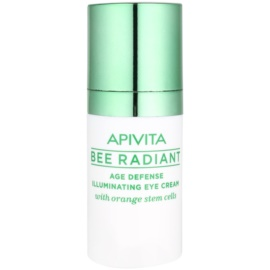Apivita Bee Radiant crème rajeunissante et illuminatrice yeux  15 ml