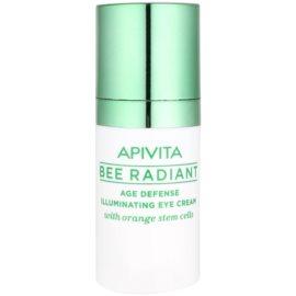 Apivita Bee Radiant pomlajevalna in posvetlitvena krema za predel okoli oči  15 ml