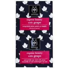 Apivita Express Beauty Grape masque anti-rides yeux  2 x 2 ml