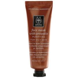 Apivita Express Beauty Propolis čistilna maska za mastno kožo  50 ml