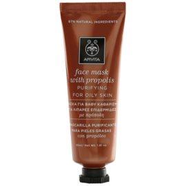 Apivita Express Beauty Propolis tisztító maszk zsíros bőrre  50 ml