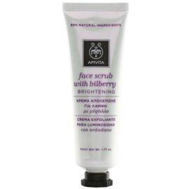 Apivita Express Gold Bilberry Brightening Face Scrub 50 ml