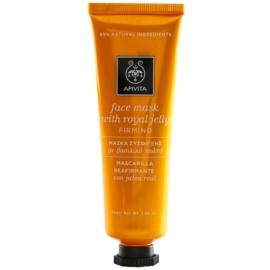 Apivita Express Gold Royal Jelly festigende und regenerierende Gesichtsmaske  50 ml