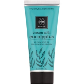 Apivita Herbal Eucalyptus Cream for Easy Breathing and Muscle Relaxation  40 ml