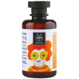 Apivita Kids Tangerine & Honey champô e gel de duche 2 em 1 para crianças   250 ml