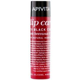 Apivita Lip Care Black Currant Hydraterende Lippenbalsem   4,4 gr