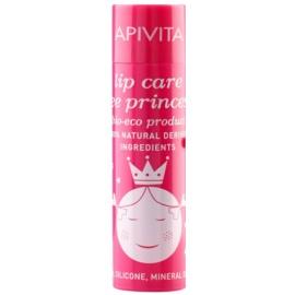 Apivita Lip Care Bee Princess hydratačný balzam na pery pre deti  4,4 g