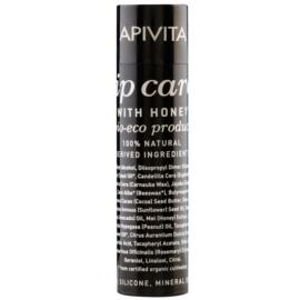 Apivita Lip Care Honey відновлюючий бальзам для губ (Bio-Eco Product, 100% Natural Derived Ingredients) 4,4 гр