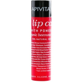 Apivita Lip Care Pomegranate поживний бальзам для губ  4,4 гр