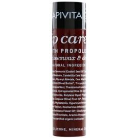 Apivita Lip Care Propolis Balsam für trockene und rissige Lippen  4,4 g