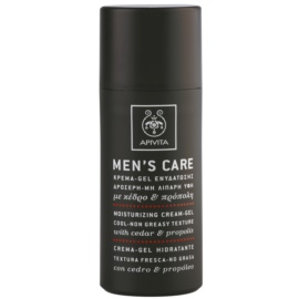 Apivita Men's Care Cedar & Propolis Moisturizing Cream-Gel 50 ml