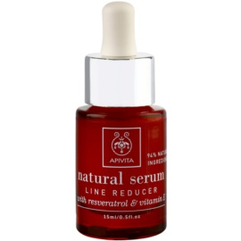 Apivita Natural Serum sérum antiarrugas regenerador  15 ml