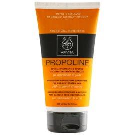 Apivita Holistic Hair Care Almond & Honey hydratační a vyživující kondicionér pro suché vlasy  150 ml