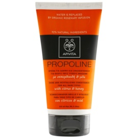 Apivita Holistic Hair Care Citrus & Honey après-shampoing revitalisant pour tous types de cheveux  150 ml