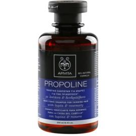 Apivita Holistic Hair Care Lupin & Rosemary tonizující šampon proti řídnutí vlasů pro muže  250 ml