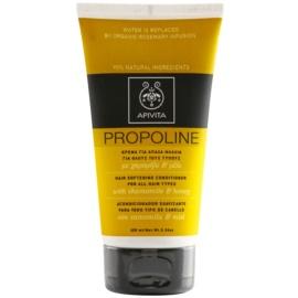 Apivita Holistic Hair Care Chamomile & Honey acondicionador para todo tipo de cabello  150 ml