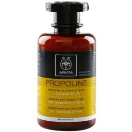 Apivita Holistic Hair Care Chamomile & Honey šampon pro každodenní použití  250 ml