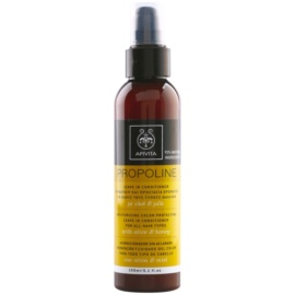Apivita Holistic Hair Care Olive & Honey hidratáló kondicionáló spray minden hajtípusra  150 ml