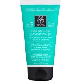 Apivita Holistic Hair Care Nettle & Propolis odżywka odżywiająca do włosów suchych  150 ml