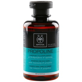 Apivita Holistic Hair Care Rosemary & Propolis шампоан за мазна коса  250 мл.