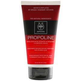 Apivita Holistic Hair Care Sunflower & Honey hydratační kondicionér pro barvené vlasy  150 ml