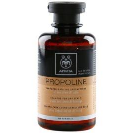 Apivita Holistic Hair Care Tea Tree & Honey šampon pro suchou a svědící pokožku hlavy  250 ml