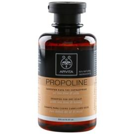 Apivita Holistic Hair Care Tea Tree & Honey champô para couro cabeludo seco com prurido  250 ml