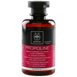 Apivita Holistic Hair Care Lupin & Laurel champô tonico para queda de cabelo  250 ml