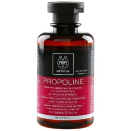 Apivita Holistic Hair Care Lupin & Laurel szmpon tonizujący do rzednących włosów  250 ml