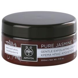 Apivita Pure Jasmine ніжний крем-пілінг  200 мл