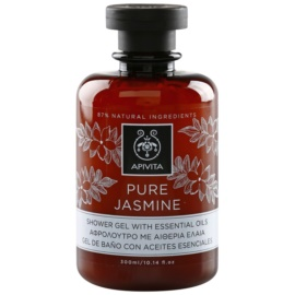 Apivita Pure Jasmine tusfürdő gél esszenciális olajokkal  300 ml