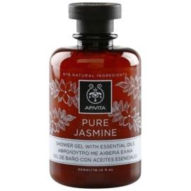 Apivita Pure Jasmine sprchový gél s esenciálnymi olejmi  300 ml
