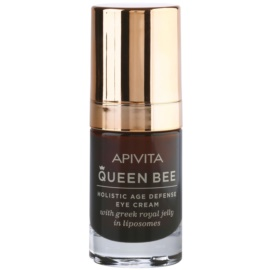 Apivita Queen Bee krem pod oczy przeciw zmarszczkom i cienom pod oczami  15 ml