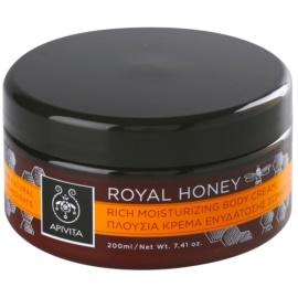 Apivita Royal Honey hydratisierende Körpercreme mit ätherischen Öl  200 ml