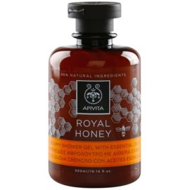 Apivita Royal Honey gel de ducha en crema con aceites esenciales  300 ml