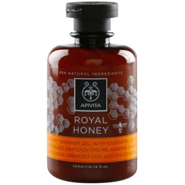 Apivita Royal Honey cremiges Duschgel mit ätherischen Öl  300 ml